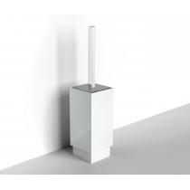 Ёршик туалетный напольный IBB Xoni, цвет: хром