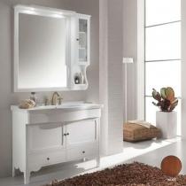 EBAN Federica Комплект мебели,  с зеркалом-шкафчиком Singolo, 108см,цвет NOCE