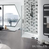 Huppe Studio Распашная дверь с неподвижным сегментом и боковой стенкой 070530
