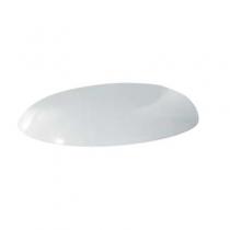 AZZURRA CLAS сиденье для унитаза, цвет белый матовый с шарнирами хром (микролифт)