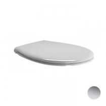 GSI Classic Сиденье для унитаза, цвет белый/хром (микролифт)