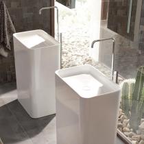 BETTE Art Monolith Раковина свободностоящая 60х40хh90см, сталь-эмаль, цвет: белый