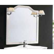 EBAN Sagomata Зеркало в раме 96*104h, цвет: bianco decape