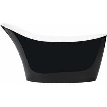 Ванна из искусственного камня Victoria+Albert Amalfi black