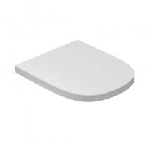 GLOBO Stockholm Сиденье новое для унитазов LAS02/LA001/LAB01/LAB02, цвет белый/хром (микролифт)