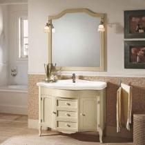 EBAN Rebecca Комплект мебели с зеркалом Sagomata, 110см, Цвет: PERGAMON