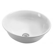 AZZURRA JUBILAEUM раковина накладная круглая диаметр 45*h18см без отв-й под смеситель, цвет белый