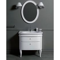 SIMAS Lante Комплект мебели, тумба с двумя ящиками, 90см, Цвет: bianco