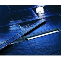 Tece drainline, Комплект для установки дренажного канала 1000 мм из нержавеющей стали с гидроизоляцией Seal System