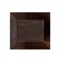 KERASAN Bentley Зеркало в деревянной раме 80х80см, цвет темный ясень