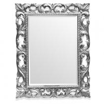 TW Зеркало в раме 75х95см, рама: дерево, цвет глянцевое серебро