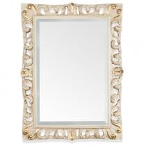 TW Зеркало в раме 87х116см, рама дерево, цвет слоновая кость/золото