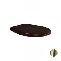 GSI Classic Сиденье для унитаза, цвет орех/бронза