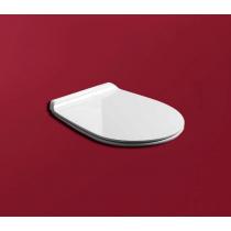 SIMAS Vignoni Сиденье для унитаза  цвет белый/хром с микролифтом