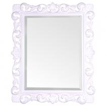 TW Зеркало в раме 85х100см, рама дерево, цвет белый глянцевый