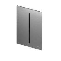TECEfilo Панель  смыва  электронная для писсуара 100х150х4 мм, нерж. сталь (сатин) покрытие против отпеч пальцев, питание от сети.