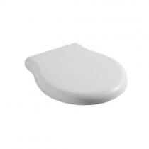 GLOBO Paestum Сиденье для унитаза из термопластик, цвет белый, петли хром микролифт