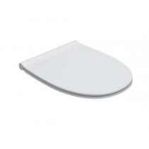 GLOBO 4ALL Сиденье для унитаза, цвет белый/хром (микролифт)