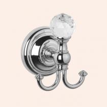 TW Crystal 016, крючок для полотенца, цвет держателя: хром с кристаллом (swarovski)