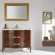 EBAN Rachele Комплект мебели с зеркалом Aurora, 108см, Цвет:NOCE