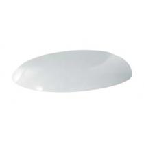 AZZURRA CLAS сиденье для унитаза 56см и моноблока, цвет белый с шарнирами хром (микролифт)