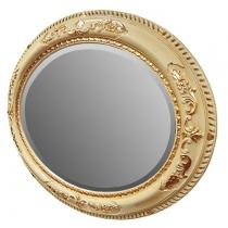 TW Зеркало в раме 81х101см, рама дерево, цвет слоновая кость/золото