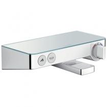 Смеситель-термостат для ванны Hansgrohe Ecostat Select 13151400 с кнопками управления
