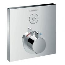 Панель скрытого смесителя Hansgrohe Select 15762000, термостат