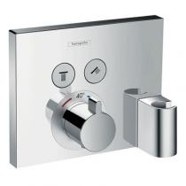 Панель скрытого смесителя Hansgrohe Select 15765000, термостат