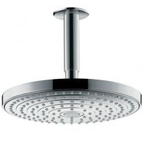 Тропический душ Hansgrohe Raindance Select S240 2jet 26467000, с потолка, диаметр 24 см