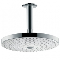 Тропический душ Hansgrohe Raindance Select S240 2jet 26467400, с потолка, диаметр 24 см