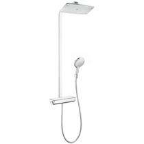 Душевая стойка с термостатом Hansgrohe Raindance Select E Showerpipe 360 27112000