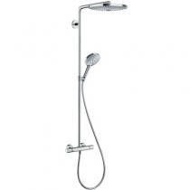 Душевая стойка с термостатом Hansgrohe Raindance Select Showerpipe S300 2jet 27133000