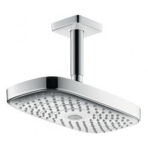 Тропический душ Hansgrohe Raindance Select E300 2jet 27384000, с потолка, диаметр 30 см