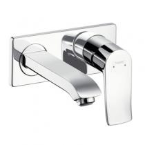 Смеситель настенный для ванны/умывальника Hansgrohe Metris 31086000