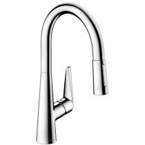 Смеситель для кухни Hansgrohe Тalis S 72813000 с вытягивающим душем