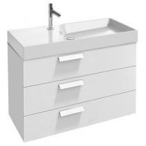 Шкаф под умывальник Rythmik Jacob Delafon Rythmik EB1310-G1C 99.5x45x63.4, 3 ящика, белый