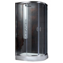 Душевой уголок Radaway Premium Plus E 80/100 30491-01-06N