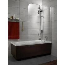 Шторка для ванны Radaway Torrenta PND R 1210 хром+транспарент