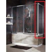 Боковая шторка для ванны Radaway Vesta S 75 хром+фабрик