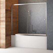 Шторка для ванны Radaway Vesta DWJ 170 хром+фабрик