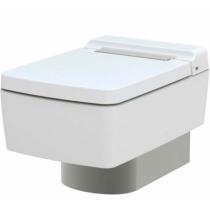Унитаз подвесной Toto SG CW512YR с сиденьем микролифт TC501CVK, панель хром 7EE0007 или белая 9AE0017