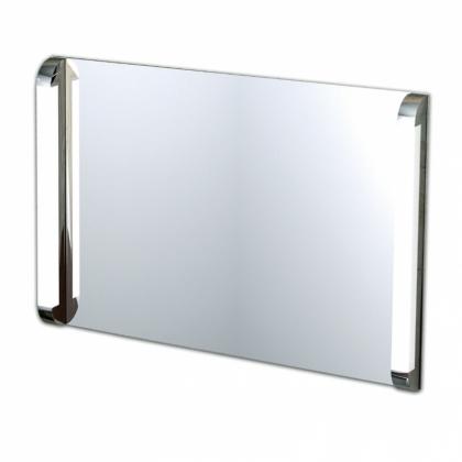 IBB Зеркало на основе 100хh69см, с двойной подсветкой 220-240В 24W без выключателя, цвет хром