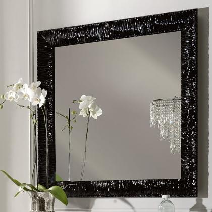 KERASAN Retro Зеркало 100x100, цвет черный