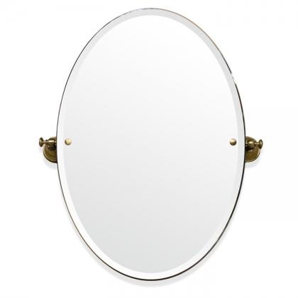 TW Harmony 021, вращающееся зеркало овальное 56*8*h66, цвет держателя: бронза