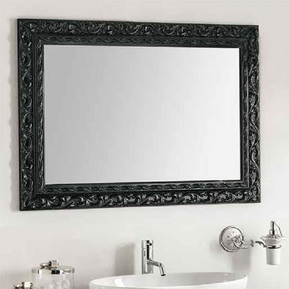 EBAN Barocco Зеркало в раме 98х70см, цвет: черный (nero)