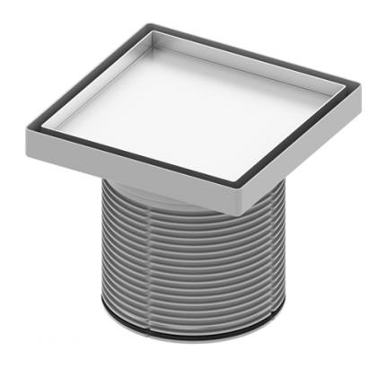 """TECE Основа для плитки """"plate"""" 150х150мм с монтажным элементом"""