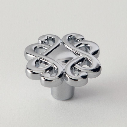EBAN Riflesso, ручка-кнопка для мебели, Цвет: хром