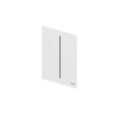 TECEfilo Панель  смыва  электронная для писсуара 100х150х7 мм, питание от сети.стекло белое
