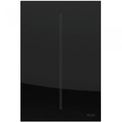 TECEfilo Панель  смыва  электронная для писсуара 100х150х7 мм, питание от сети.стекло черное